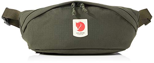 Fjallraven, Ulvo Hip Pack Medium, Waterproof Fanny Pack for Everyday Use and Travel, Deep Forest