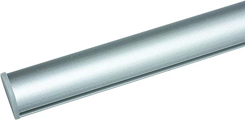 Klappleiste Klemmleiste für Schiebevorhänge 60cm Aluminium