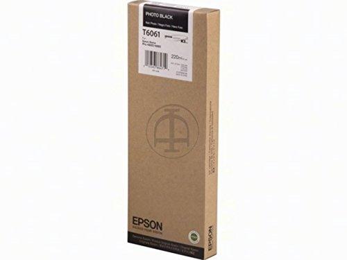 Epson Stylus Pro 4880 (T6061 / C 13 T 606100) - original - Tintenpatrone schwarz - 220ml