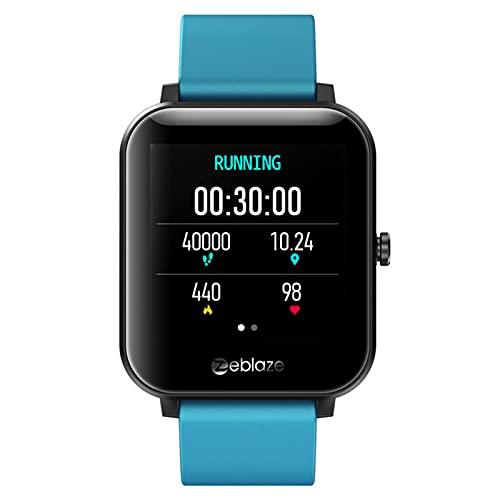 APCHY Smartwatch Reloj Inteligente De Mujeres, Rastreador De Fitness De 1.54 Pulgadas Pantalla Tasa del Corazón Mornitoring Impermeable IP68 Activity Trackers Watch Stropewatch,B