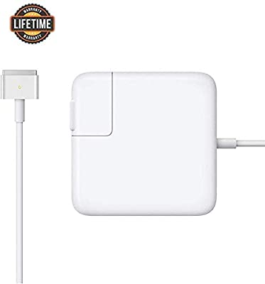 Mac Book Pro Charger,AC 85w Magsafe 2 Power Adapter Magnetic T-Tip Connector Charger for Mac Book Pro 13/15/17 Inch(After Mid 2012 Models)