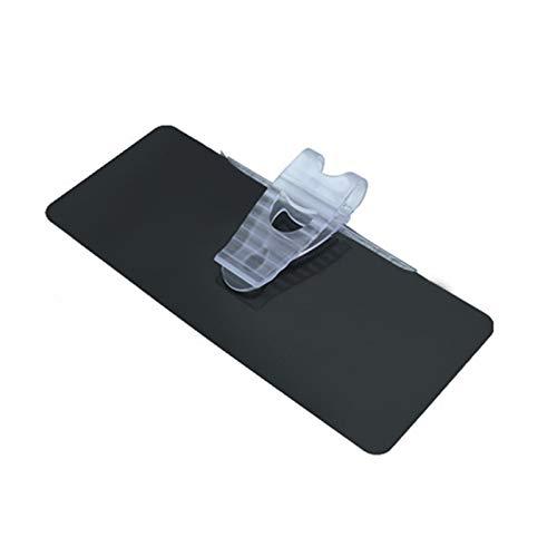 JJJJD Coche Universal Parasol luz Cruce sombreado del Coche del Espejo antideslumbrante con Clip Escudo Parasoles de conducción Espejo Clear View (Color : Black)