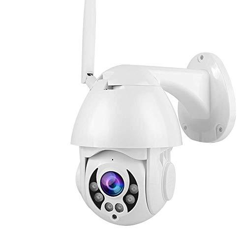 WiFi-Überwachungskamera, PTZ Überwachungskamera 4x Zoom-Sicherheits-Nocken, Vertikal Rotation 90 Grad 2,5-Zoll-1080P...