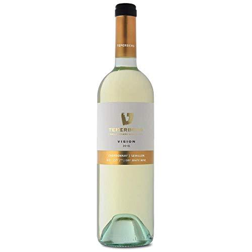 Teperberg weißwein Trocken (0.75l) - Vision Chardonnay Semilion - koscherer Weißwein- koscherer wein israel - Kiddush Weine, Shabbat Weine -Excellente Weine vom bekannten Weingut Teperberg.