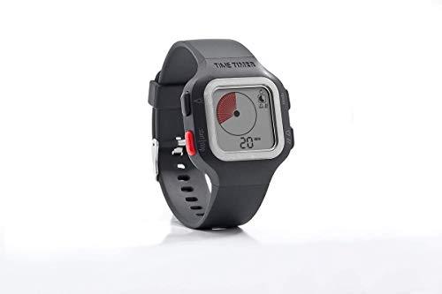 Time Timer Armbanduhr Plus Senior Farbe: anthrazit/orange