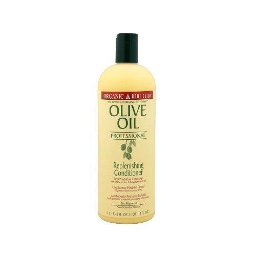 Organic Root Stimulator Olive Oil Professional Replenishing Conditioner, 33.8 Ounce by Organic Root Stimulator [Beauty] (English Manual)