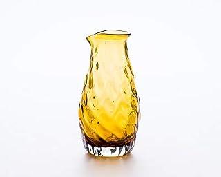 琉球ガラス 徳利 ブラウン みなも徳利 晴天 お酒好き 日本酒 焼酎に一杯 夏のお酒 沖縄おすすめお土産 贈り物 ギフト