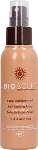 Biosolis Spray Autobronzant Hydratant 100 ml
