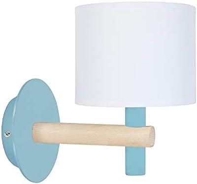 Tosel 31794 Applique 1 Lumière, Acier, E14, 40 W, Vert, 14 x 22 cm
