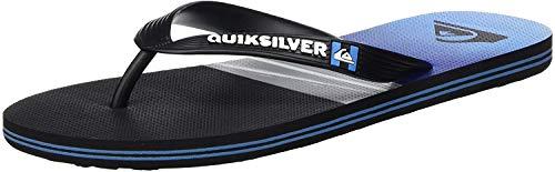 Quiksilver Molokai Hold Down, Zapatos de Playa y Piscina Hombre, Azul (Black/Blue/Black Xkbk), 40 EU