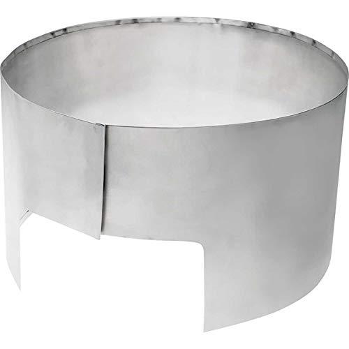 Edelrid Kocher Zuberhör Windschutz LITE VPE5, Silber, 75 g