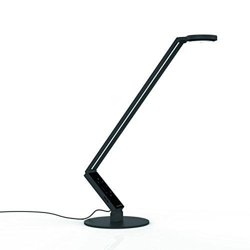 Schreibtischlampe - luctra - Radial Tisch Pro schwarz - 9216 - biologisch wirksames Licht