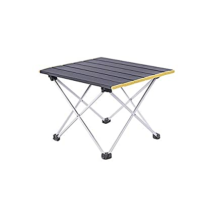 Camping Table Foldable Portable Aluminum Tables with Carry Bag for Outdoor Camping, Hiking and Picnic