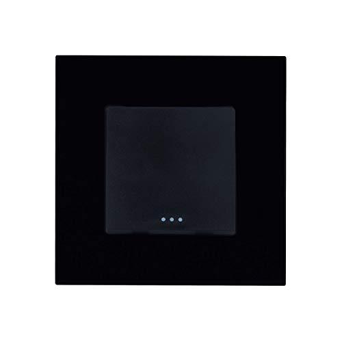 LEDKIA LIGHTING Interruptor Simple de Cruzamiento con Marco PC Modern Negro