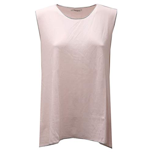 Kangra 1575AE Canotta Donna Pink Cotton Lurex t-Shirt Woman [48]