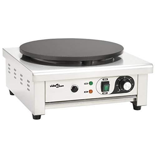 vidaXL - Maquina de hacer Crepes profesional
