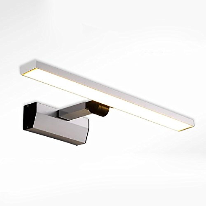 & Spiegellampen LED-Spiegel Frontleuchte, Modernes Aluminium Verstellbares Badezimmer Badezimmer Stretch Spiegel Kabinett Lichter Make-up Lichter Badezimmerbeleuchtung