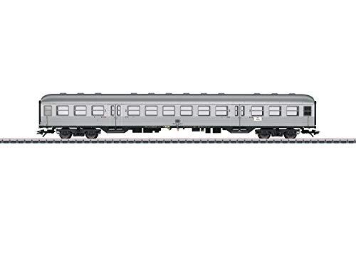 Märklin 43897 Klassiker Modelleisenbahn Personenwagen 2. Klasse, Silberling, Spur H0, Mehrfarbig