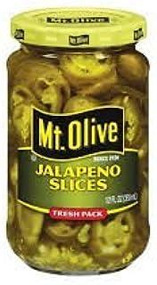 Mt. Olive Sliced Jalapenos, Fresh Packed, 12 Oz., (Pack of 2)