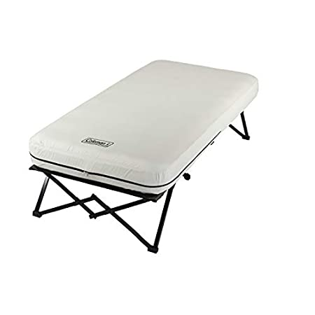 Coleman Twin Framed Airbed Cot - a 3-in-1 sleep system.