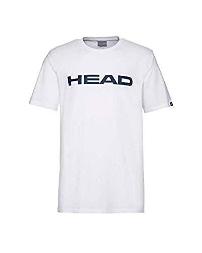 HEAD CLUB IVAN T-Shirt M, Camiseta, Hombre, Blanco, L