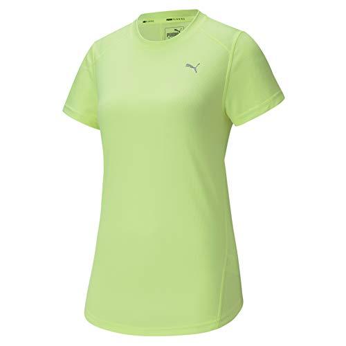 PUMA Ignite SS tee Camiseta, Mujer, Azul, XS
