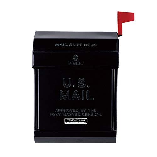 ART WORK STUDIO メールボックス2 U.S. Mail box 2 [ ブラック / TK-2078 ]