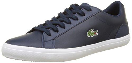 Lacoste Herren Lerond BL 1 CAM Sneaker, Blau (Navy), 43 EU