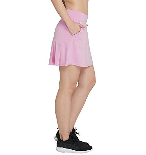 Westkun Falda Plisada De Tenis con CordóN EláStico Mujer Skort De Golf(Rosa Claro,M)