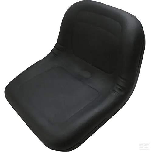 Sitz für Traktor schwarz PVC 405 x 490 mm GOPART