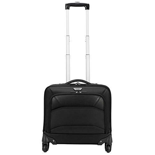 Targus TBR022EU Notebook Mobile VIP Roller Bag, 39.6 cm (15.6 Zoll) Notebook-Rucksack/Wagen, Schwarz