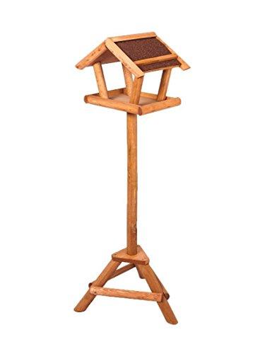 Vogelhaus mit Ständer aus Holz FSC® Futterhaus (0224)