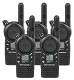 5 Pack of Motorola CLS1110 Two Way Radio Walkie Talkies (UHF)