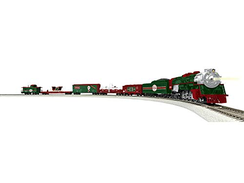 Lionel North Pole Central Freight Electric HO Gauge Model Train Set w/Remote and Bluetooth Capability