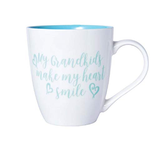Pfaltzgraff My Grandkids Make My Heart Smile Large Coffee Mug - 18 Ounces
