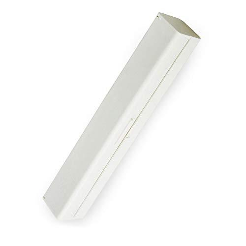 Vit plastfilmskärmaskin | Kök matpapperskärmaskin | PP-material | Lämplig för matpapper, såsom plastfolie och aluminiumfolie…