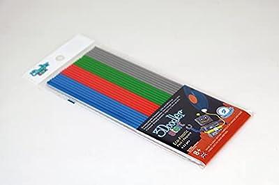 3Doodler Start Refill Plastic Pack: Primary Pow! (Mixed)