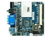 Via Technologies Processor 800 MHz SDDR Memory SATA mPCI E Nano-ITX moederbord - Zwart