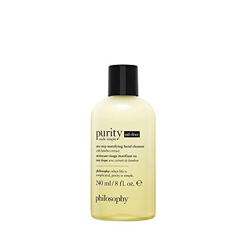philosophy purity made simple oil free cleanser, 8 oz