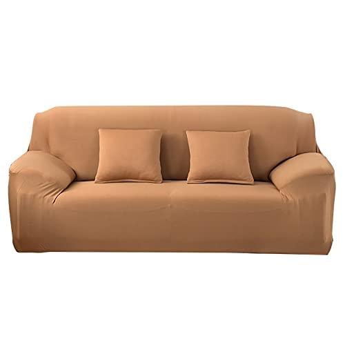WXQY Fundas Antideslizantes elásticas de Color sólido Funda de sofá Antideslizante para Mascotas Funda de sofá para Mascotas Esquina en Forma de L Funda de sofá Antideslizante A12 2 plazas