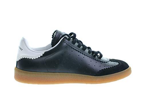 Isabel Marant Bryce Damen Schuhe Sneaker Sportlich Low Sneaker Schwarz Leder, Größe:35