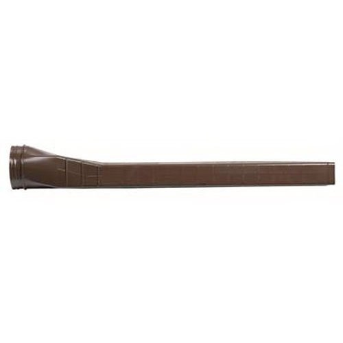 Flex-Drain 88219A Covered Splash Block, Brown by Amerimax Home Products