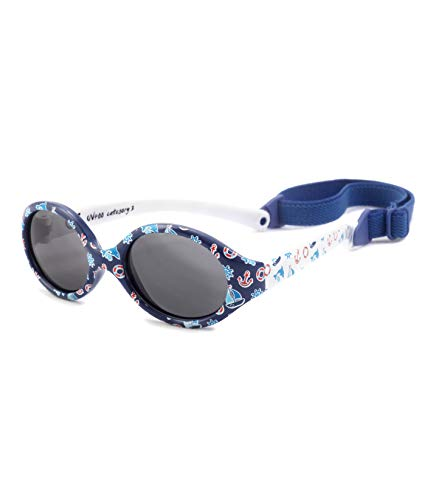 Kiddus Gafas de sol POLARIZADAS bebe para niños y niñas a...