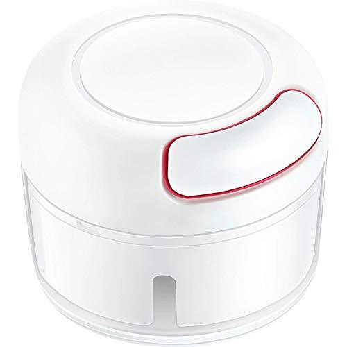 ZUEN Allesschneider Mini Edelstahl-Allesschneider Automatische Adsorption Robust Langlebig Geeignet Für Die Küche