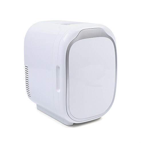 Mini Fridge 6 L / 1.59 Gal Small Cooler Warmer Portable Auto Car Fridge Freezer Makeup Skincare Fridge Great for Bedroom, Office, Car, Dorm