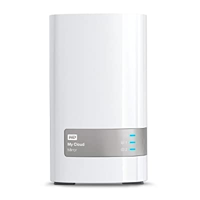 WD 10TB My Cloud Mirror Personal Network Attached Storage - NAS - WDBZVM0100JWT-NESN from Western Digital