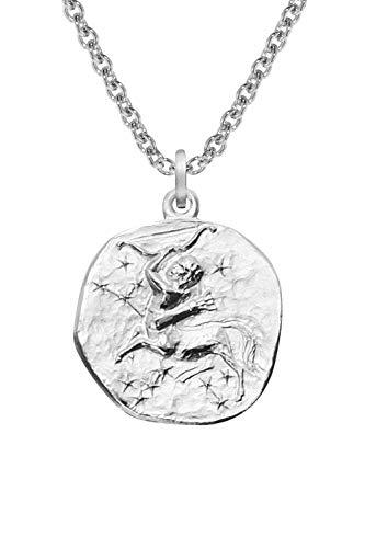 trendor Sternzeichen Schütze mit Halskette Silber 925 08452-50 50 cm