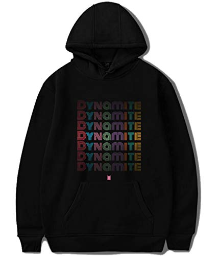 Kpop BTS Dynamite Hoodie Suga Jimin V Jungkook Rap Monster Jhope Jin Sweater Pullover