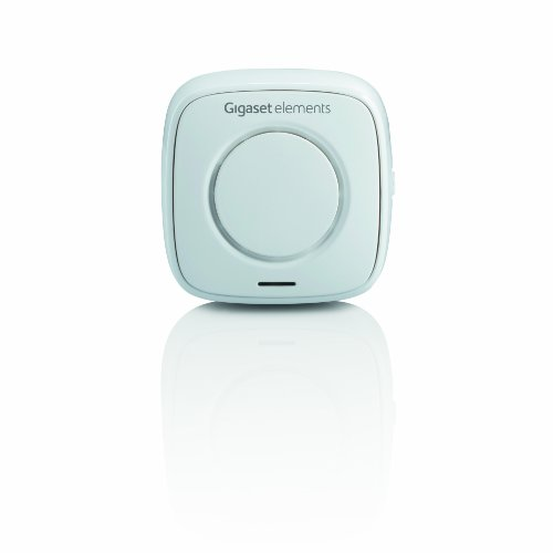 SET-ERGÄNZUNG Gigaset Alarm-Sirene - für Wohnung Haus Büro - 100db Lautstärke - mit kostenfreier App - Smart Home Sirene