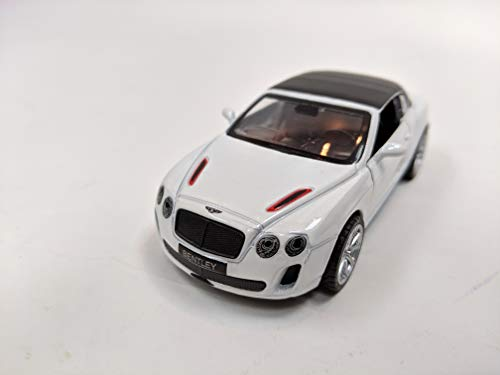 METAL SPEED ZONE - MSZ Bentley Continental Supersports ISR White - 1:43 Scale